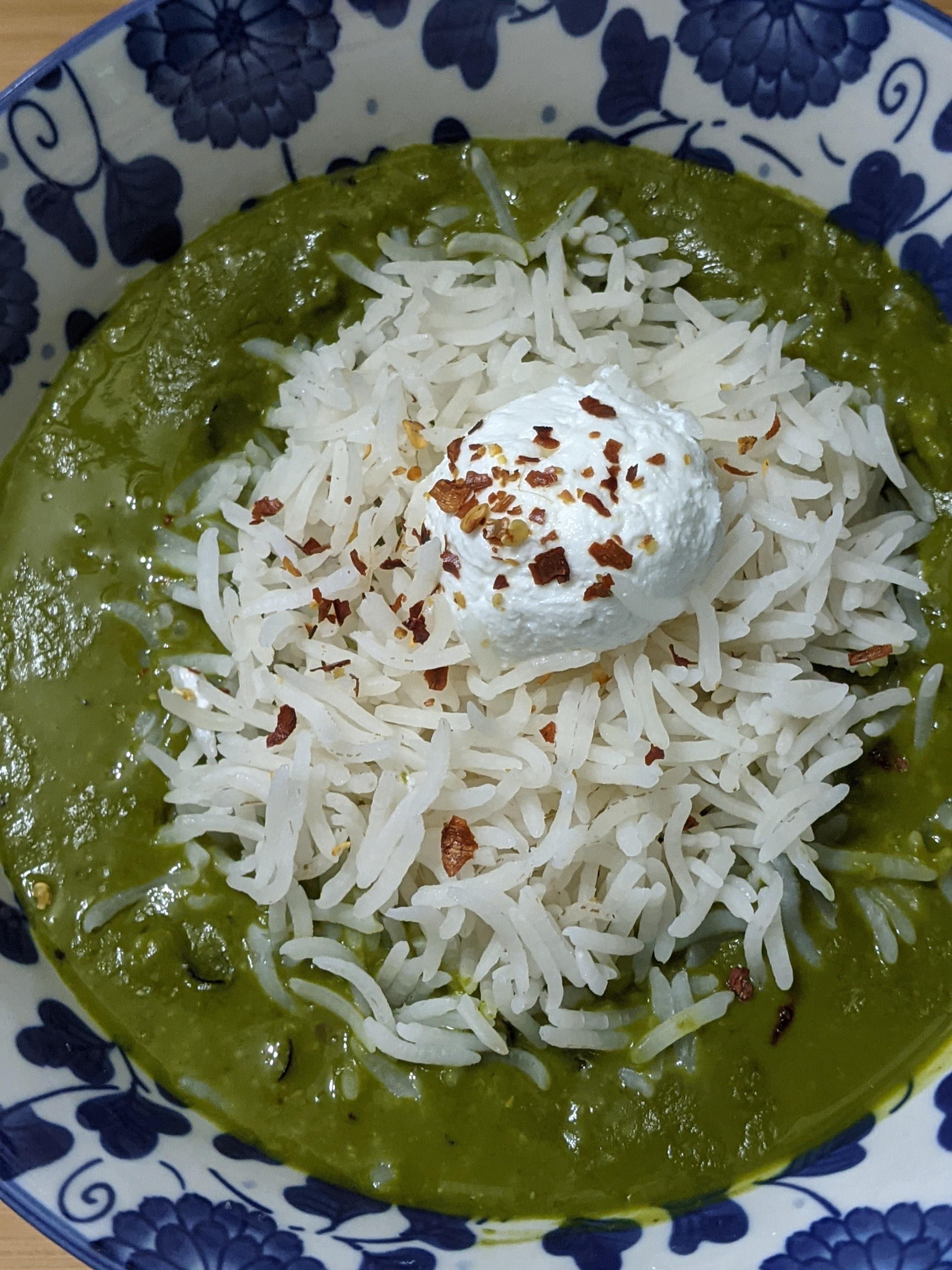 Image of Sri Lankan green breakfast porridge
